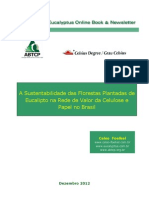 A Sustentabilidade Das Florestas Plantadas de Eucalipto Na Rede de Valor Da Celulose e Papel No Brasil