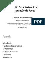 Detecção Caracterização e Recuperação de Faces - Apresentação