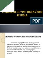 Consumer Buying Behaviourppt