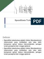 Spondilosis Tuberkulosa
