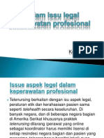 Tren dalam issu legal keperawatan profesional.pptx