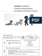 SESIÓN DE PSICOMOTRICIDAD  1 y 2