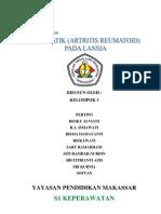 makalah atritis reumatoid pada lansia