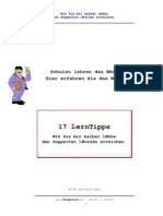 (eBook - German) 17 Lern-Tipps
