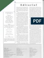 Editorial y sumario Nº 20 (octubre 2006)