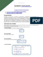 Analisis Matematico Teorema Limites