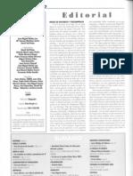 Editorial y sumario Nº 22 (noviembre 2007)
