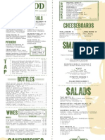Boxwood Tap & Grill menu