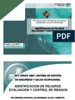 Matrices Identificacion de Peligros OHSAS 18001