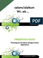 Hipertensi Presus