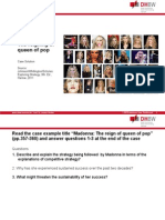 Chapter 6 Madonna Case Solutions