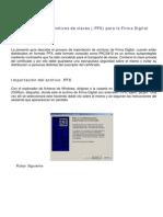 Importacion de Archivos PFX