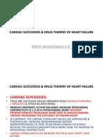 Cardiac Glycosides & Drug Herapy of Heart Failure