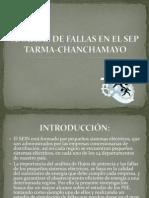 ANÁLISIS DE FALLAS EN EL SEP TARMA-CHANCHAMAYO