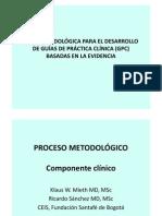 guía metodológica para el desarrollo de guías de práctica clínica