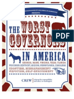 America's Worse Governors
