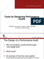 NORWAY- Audit Design Matrix