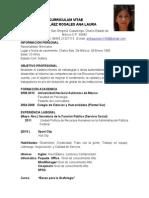 Curriculum Vitae Alpr
