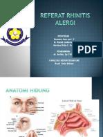 Referat rhinitis alergi ppt