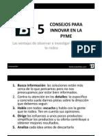 Consejos Para Innovar en La PyME