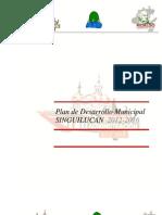 PLAN DE DESARROLLO MUNICIPAL SINGUILUCAN 2012 - 2016.pdf
