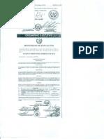 Acuerdo Ministerial 0418-2012