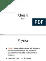 unit 1 motion