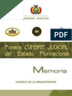 Memoria Primera Cumbre Judicial 0.5