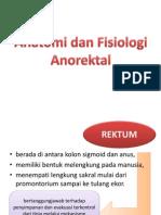 Anatomi Dan Fisiologi Anorektal