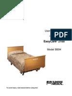 Easy Care 2100 user manual