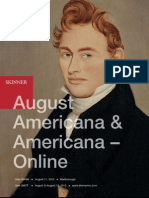 August Americana | Skinner Auctions 2669M and 2667T
