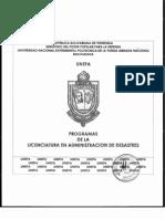 Licenciatura en Administracion de Desastres