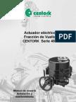 Centork Manual Serie 480