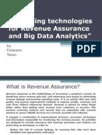Emerging Techs in RA & Big Data Analytics