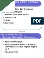 Isu-Isu Semasa Dalam Tamadun Islam