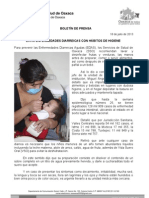 18/07/13 Germán Tenorio Vasconcelos evita Enfermedades Diarreicas