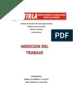 LA MEDICIÓN DEL TRABAJO- trabajo.docx