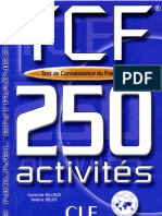 eBook Test de Connaissance Du Francais 250 Activites