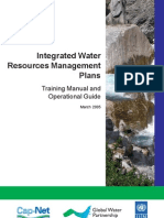 IWRM Plans Manual