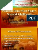 Pakistan's Halal Meat Sector