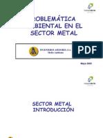Medioambiente-Problemática medioambiental sector metal