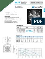 Ventilacion Industrial Tarifa PVP SalvadorEscoda