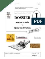 01.Dossier Uno Lengua 3o Eso Ortografia y Morfosintaxis