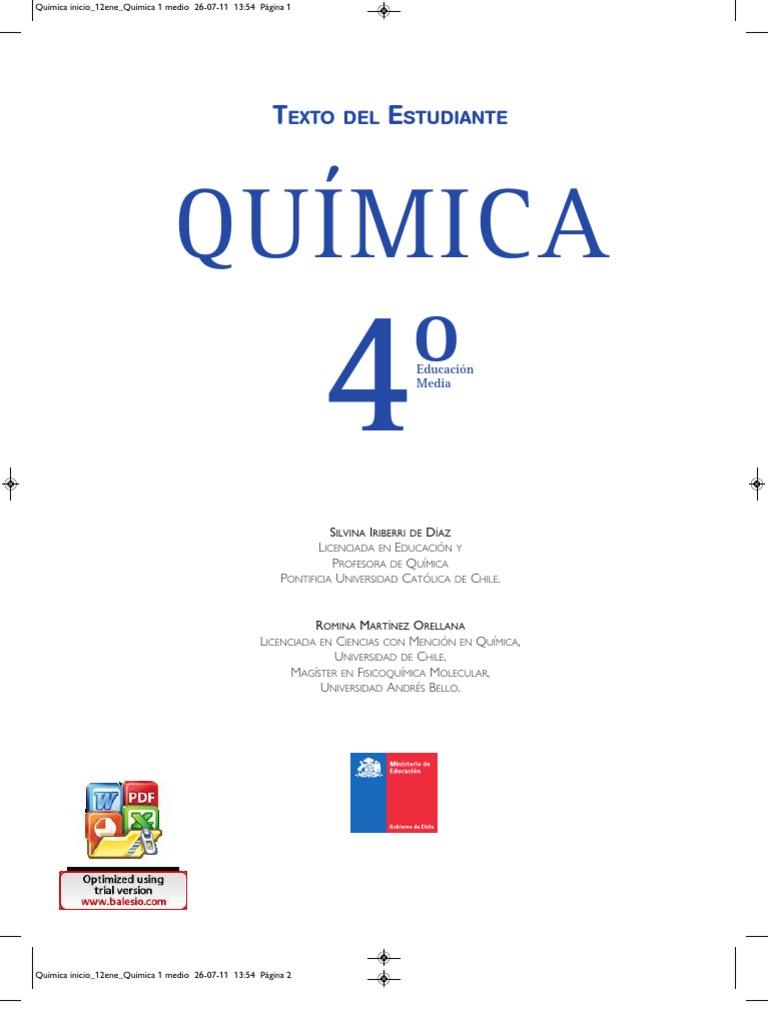 qumica 4 media