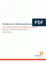 Predictions in Market Research White Paper 2