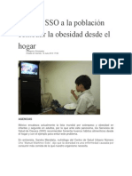 12/07/13 elibertadordeoaxaca Exhorta SSO a la población combatir la obesidad desde el hogar