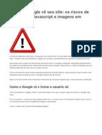 Como o Google vê seu site