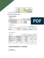Ingresos y Costos de Operacion(1)