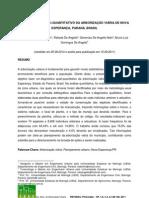 Diagnóstico quali-quantitativo da arborização viária de Nova Esperança - Paraná - Brasil