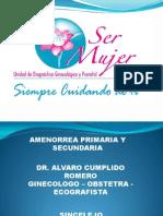 Amenorrea - Alvaro Cumplido